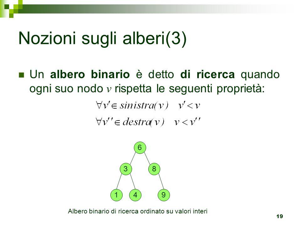Nozioni sugli alberi(3)