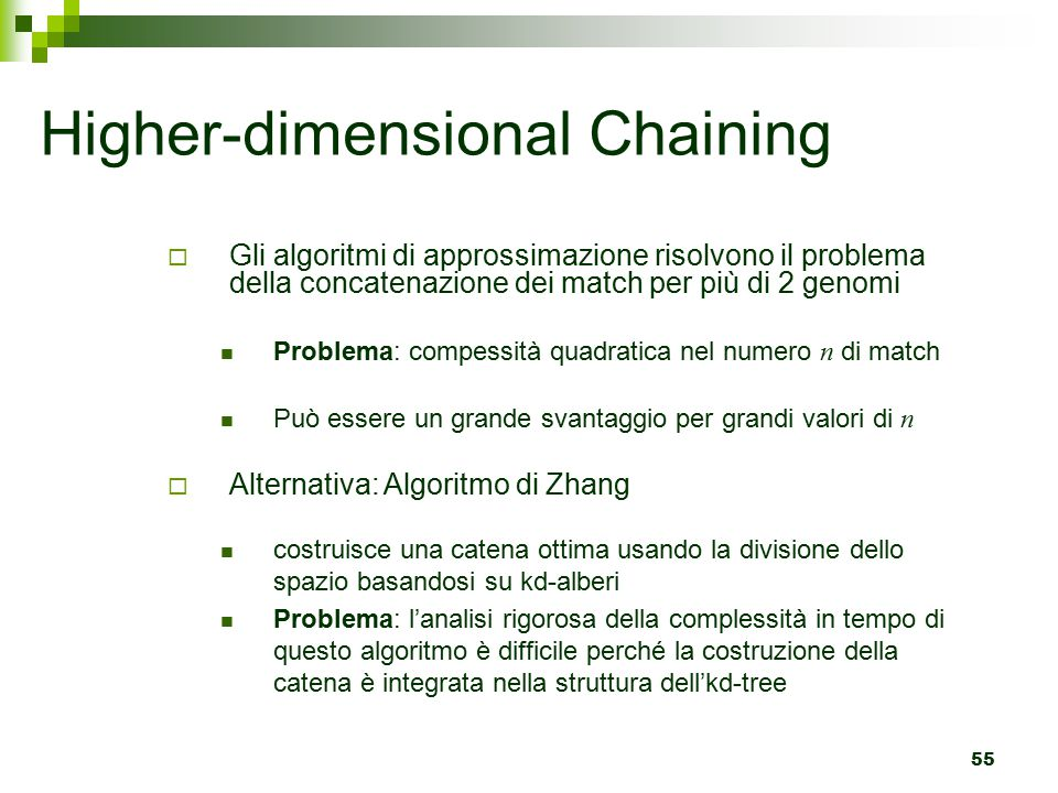 Higher-dimensional Chaining