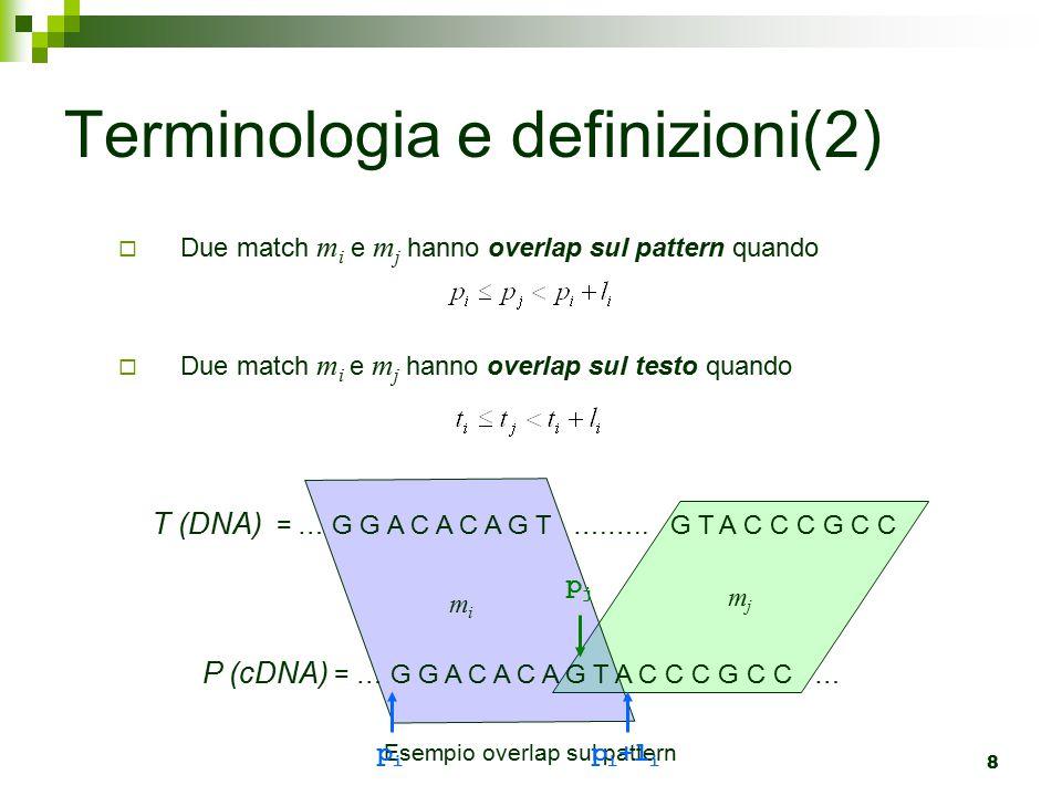 Terminologia e definizioni(2)
