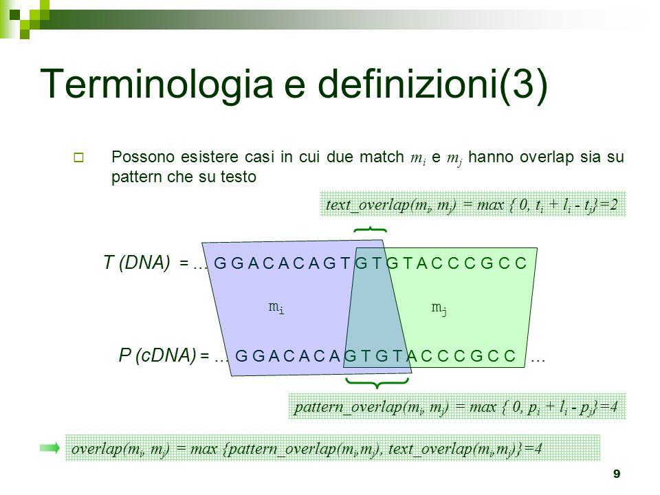 Terminologia e definizioni(3)