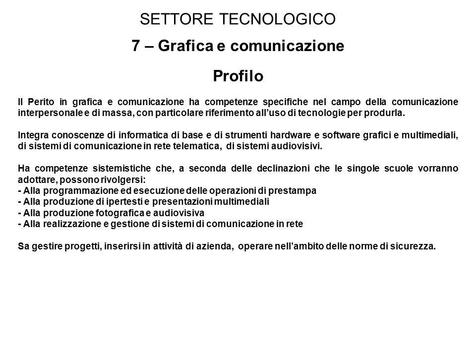 7 – Grafica e comunicazione