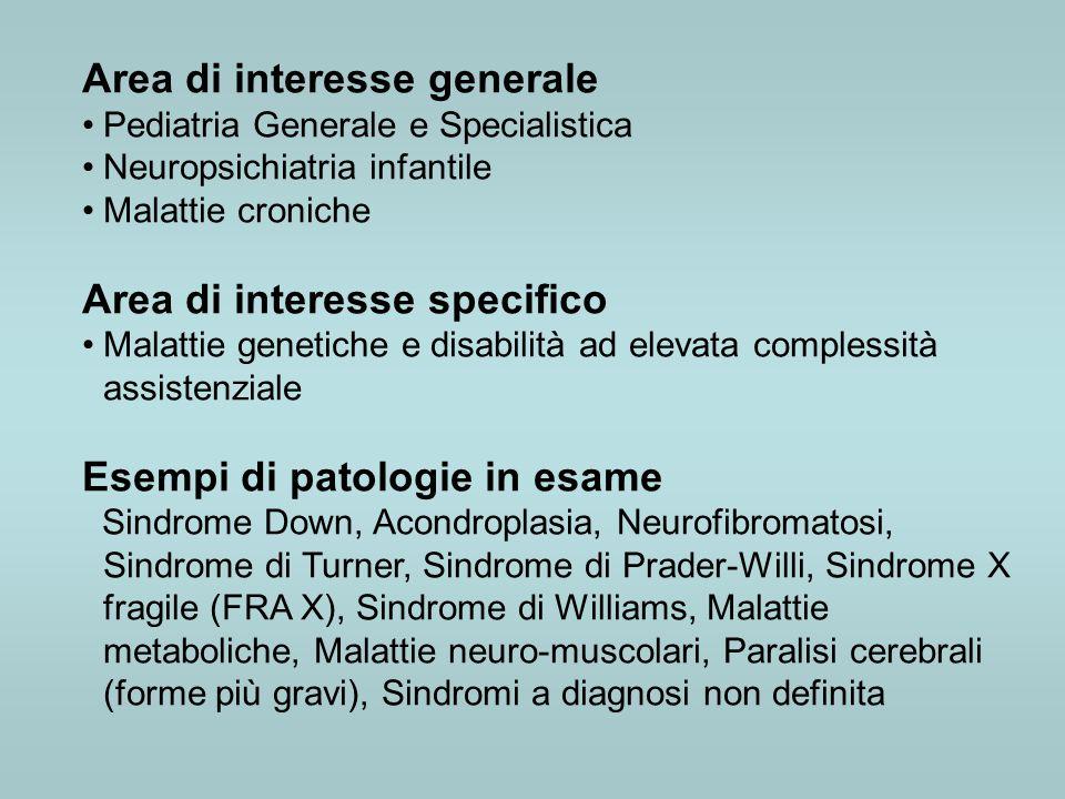 Area di interesse generale