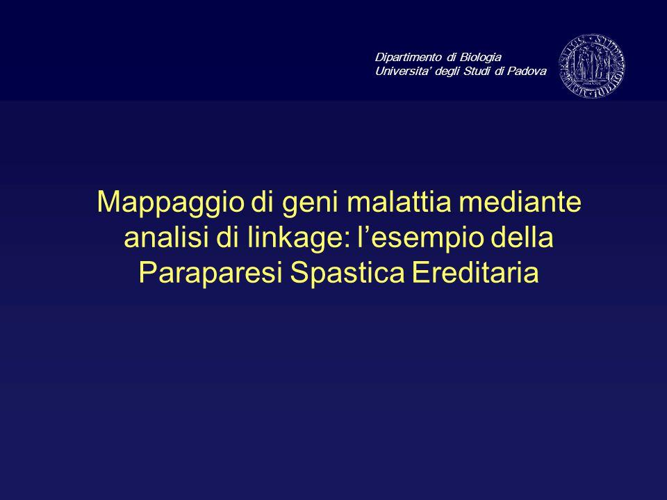 Dipartimento di Biologia Universita' degli Studi di Padova