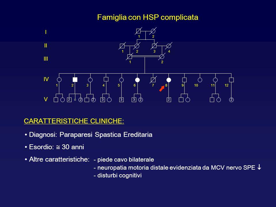 Famiglia con HSP complicata