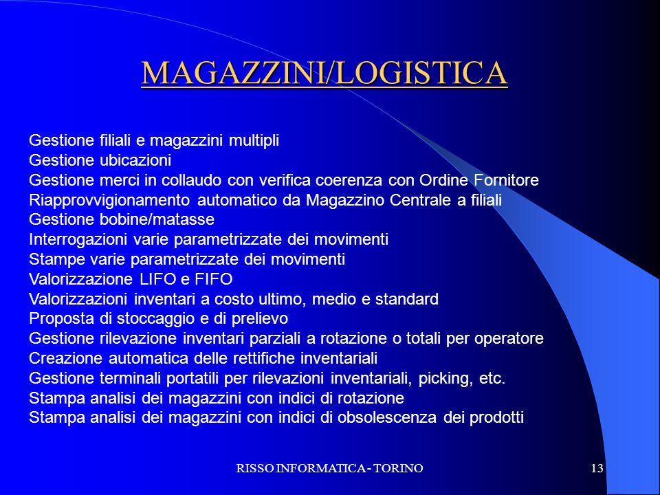 RISSO INFORMATICA - TORINO