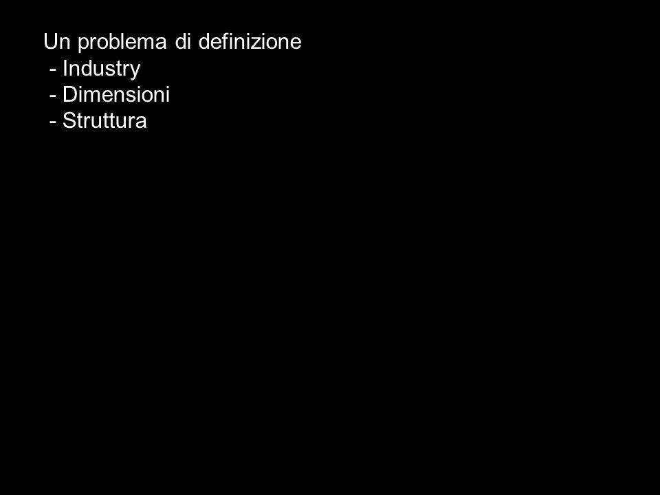 Un problema di definizione