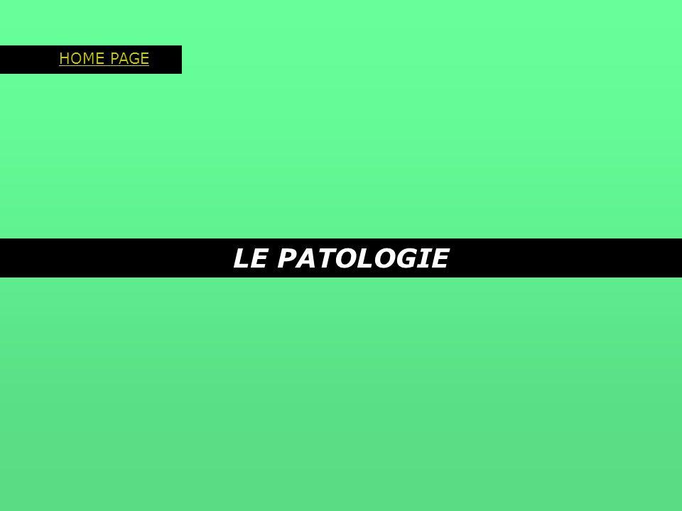 HOME PAGE LE PATOLOGIE