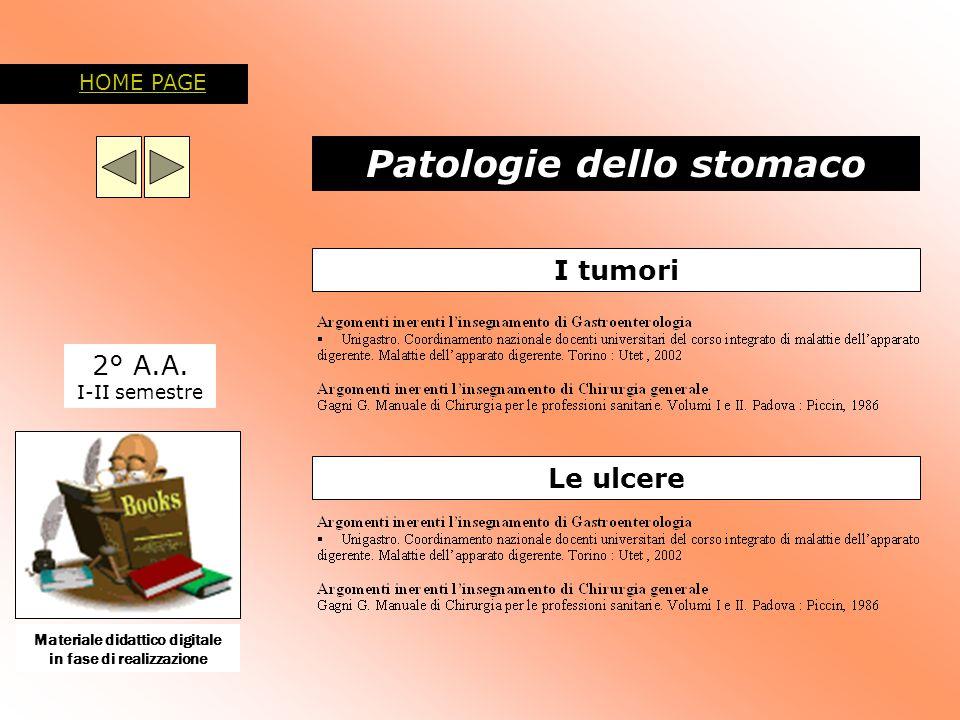 Patologie dello stomaco