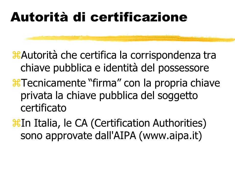 Autorità di certificazione