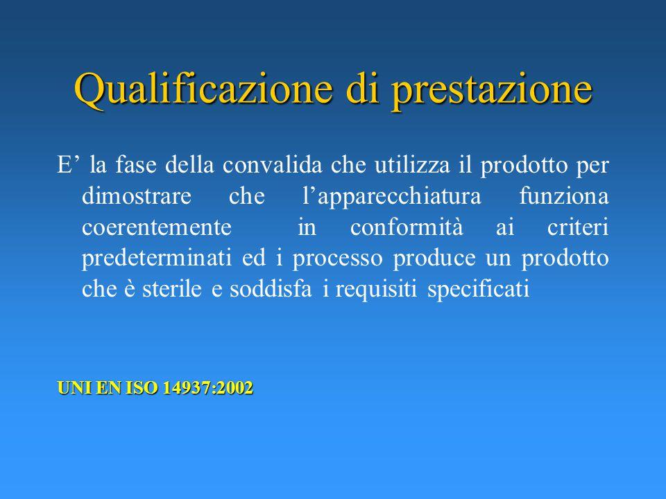 Qualificazione di prestazione