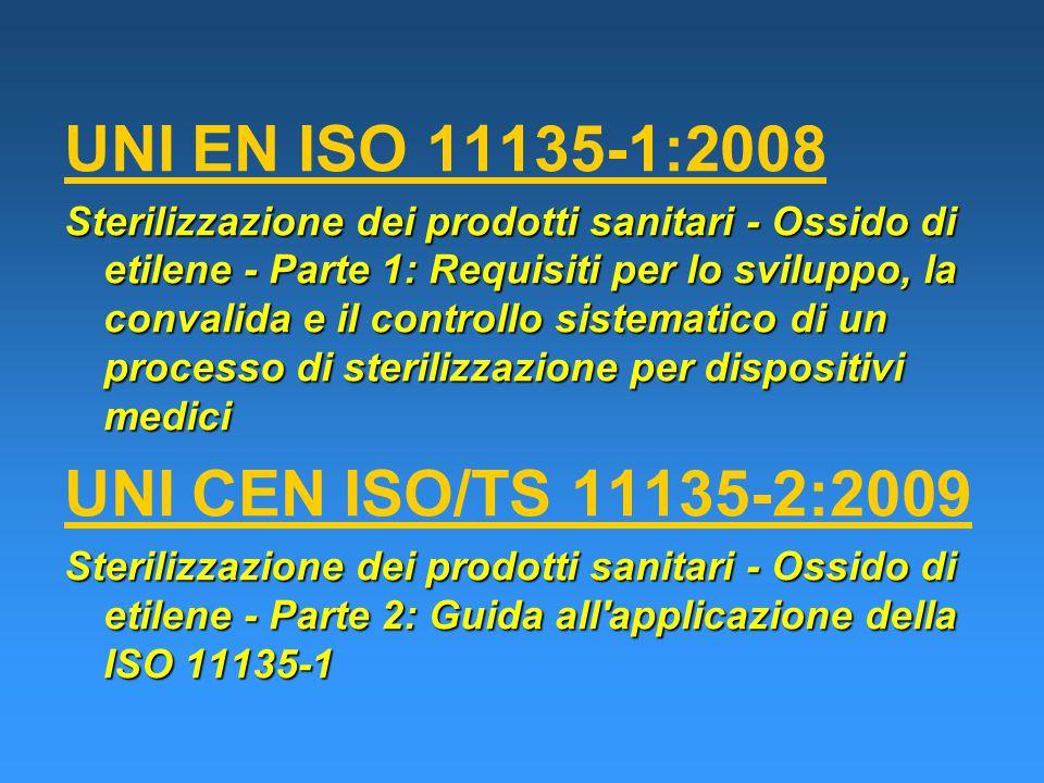 UNI EN ISO 11135-1:2008 UNI CEN ISO/TS 11135-2:2009