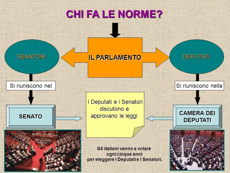 La parola norma significa regola ppt video online scaricare for Numero senatori e deputati in italia