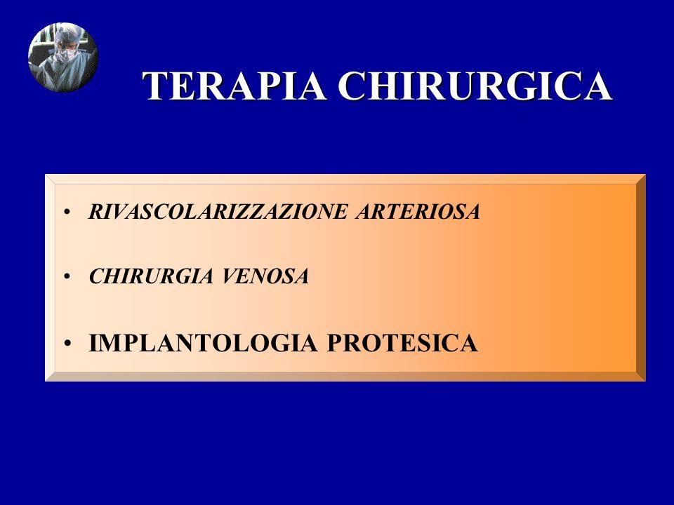 TERAPIA CHIRURGICA IMPLANTOLOGIA PROTESICA