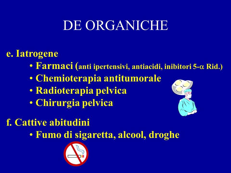 DE ORGANICHE e. Iatrogene