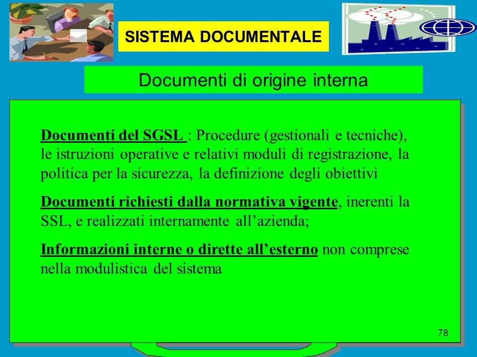 Documenti di origine interna