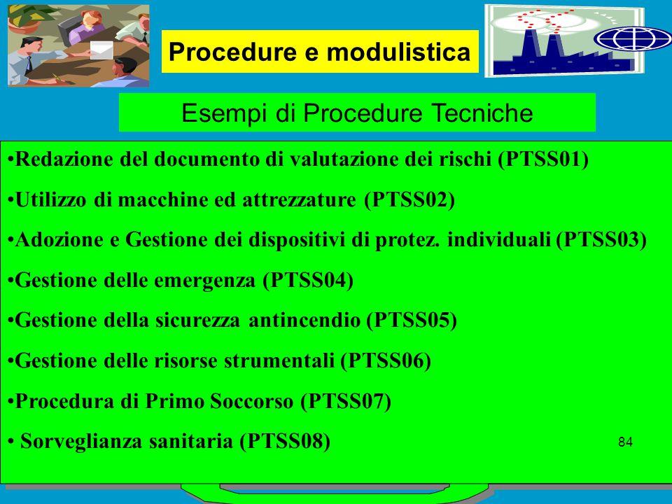 Procedure e modulistica