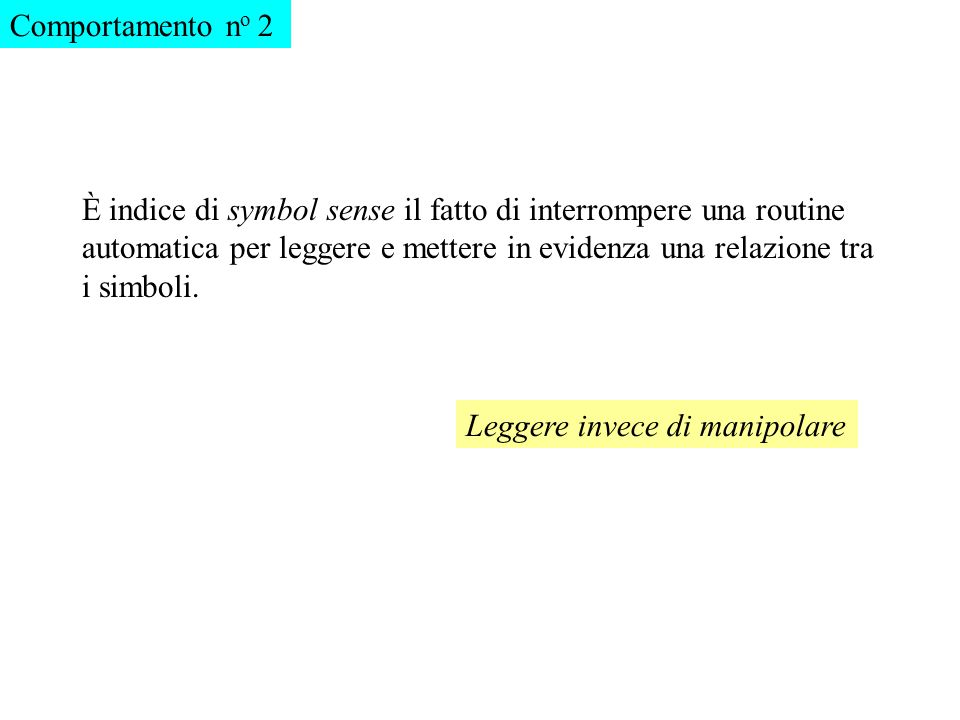 Comportamento no 2