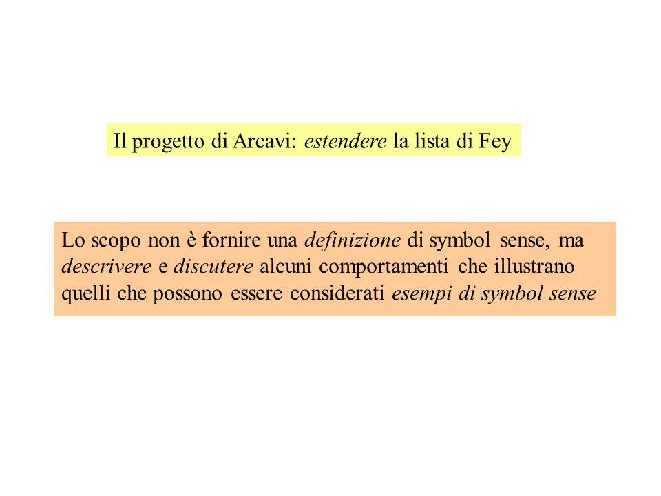 Il progetto di Arcavi: estendere la lista di Fey