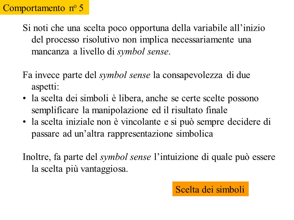 Comportamento no 5