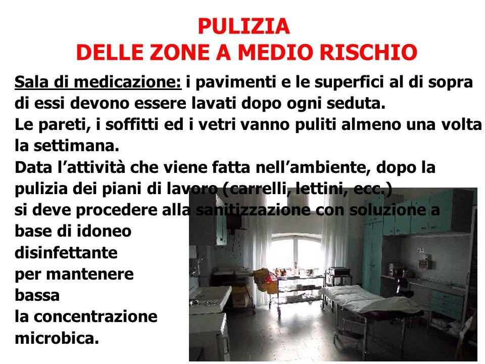 DELLE ZONE A MEDIO RISCHIO