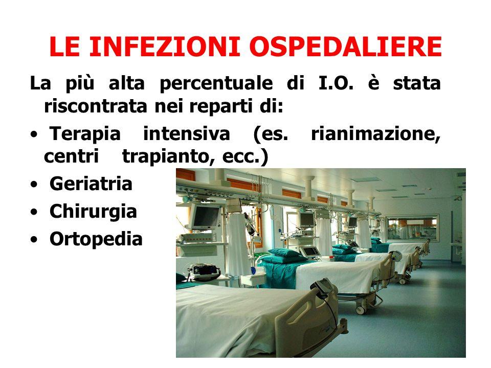 LE INFEZIONI OSPEDALIERE