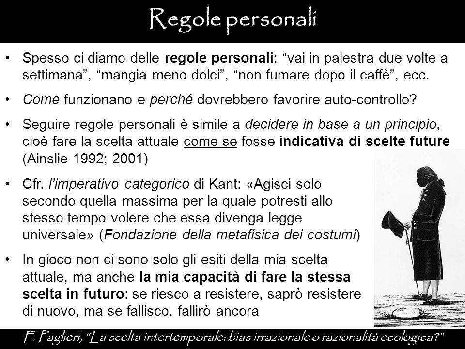 Regole personali