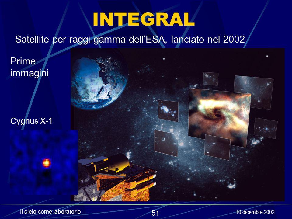 INTEGRAL Satellite per raggi gamma dell'ESA, lanciato nel 2002