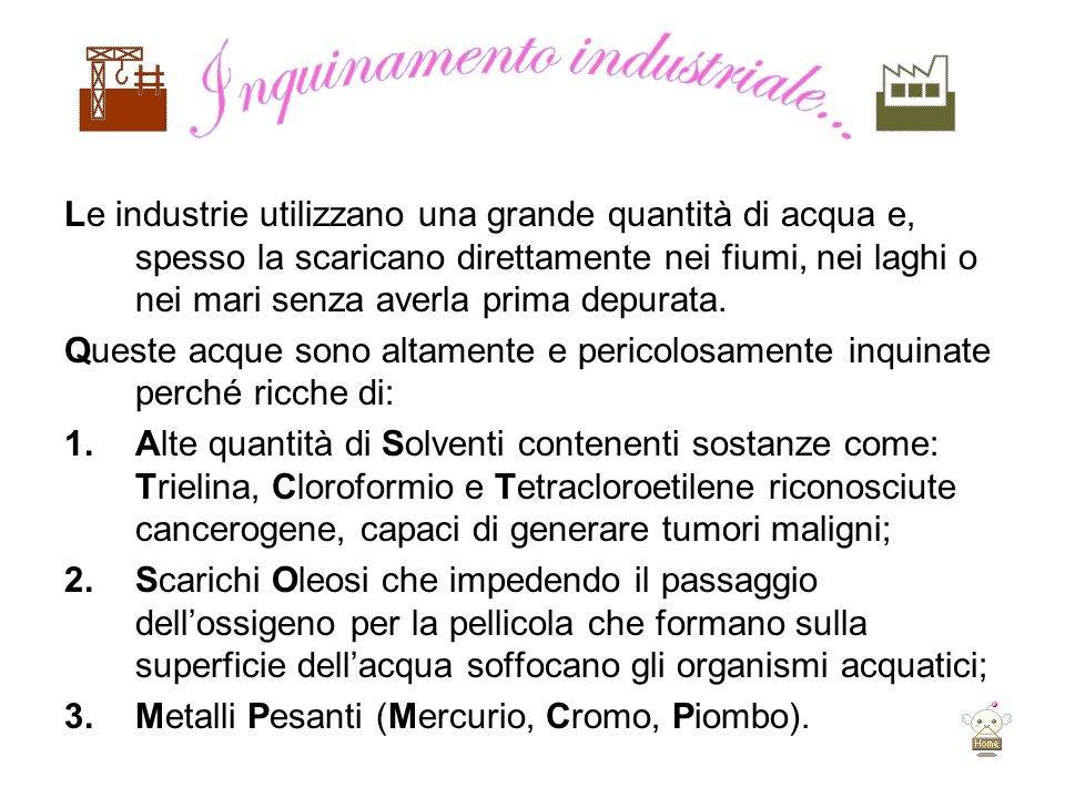 Inquinamento industriale...