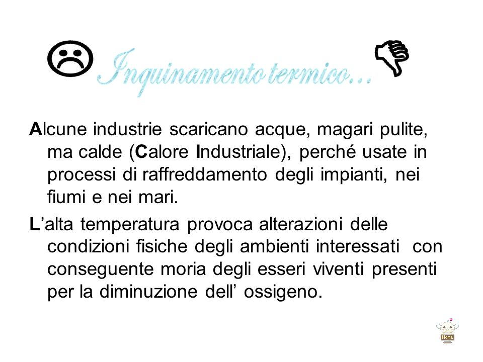 L D Inquinamento termico...