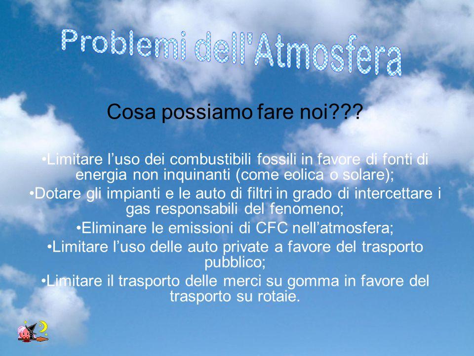 Problemi dell Atmosfera