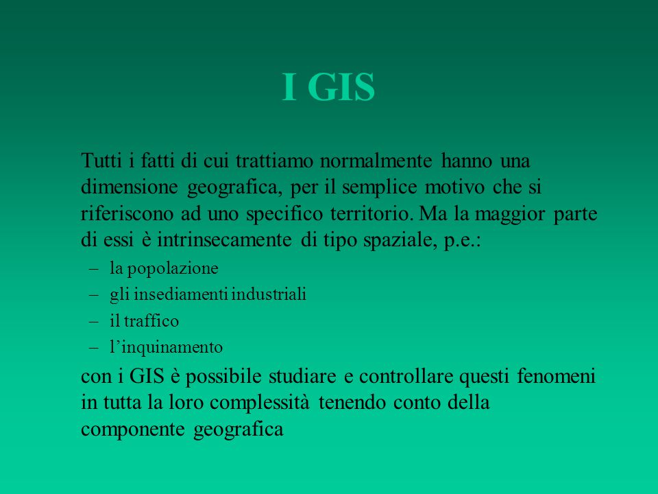 I GIS