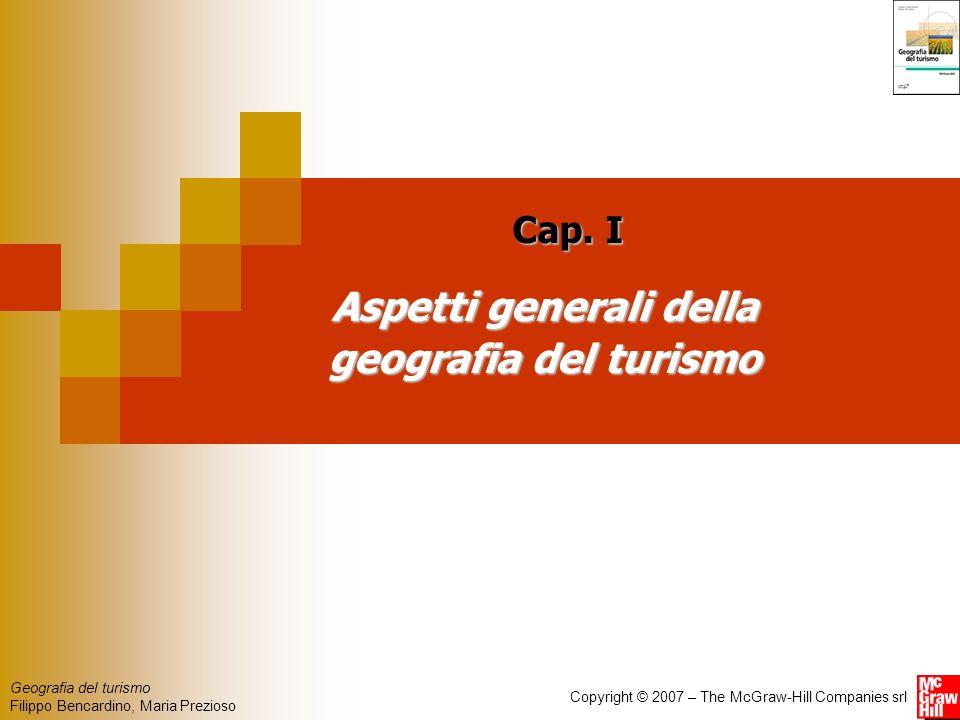 Aspetti generali della geografia del turismo