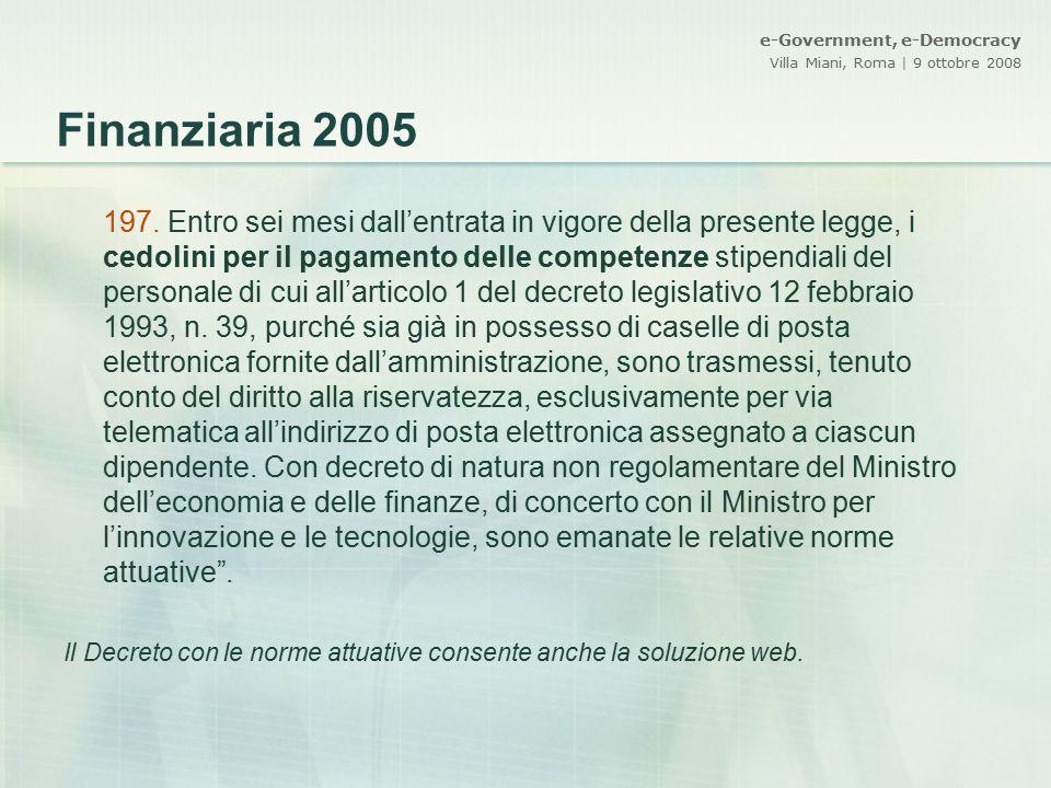 Finanziaria 2005