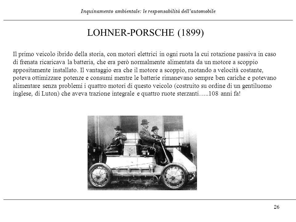 LOHNER-PORSCHE (1899)
