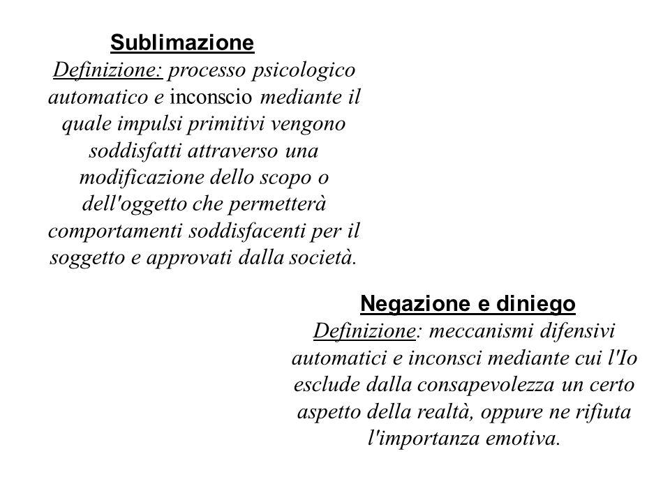 Definizione: processo psicologico