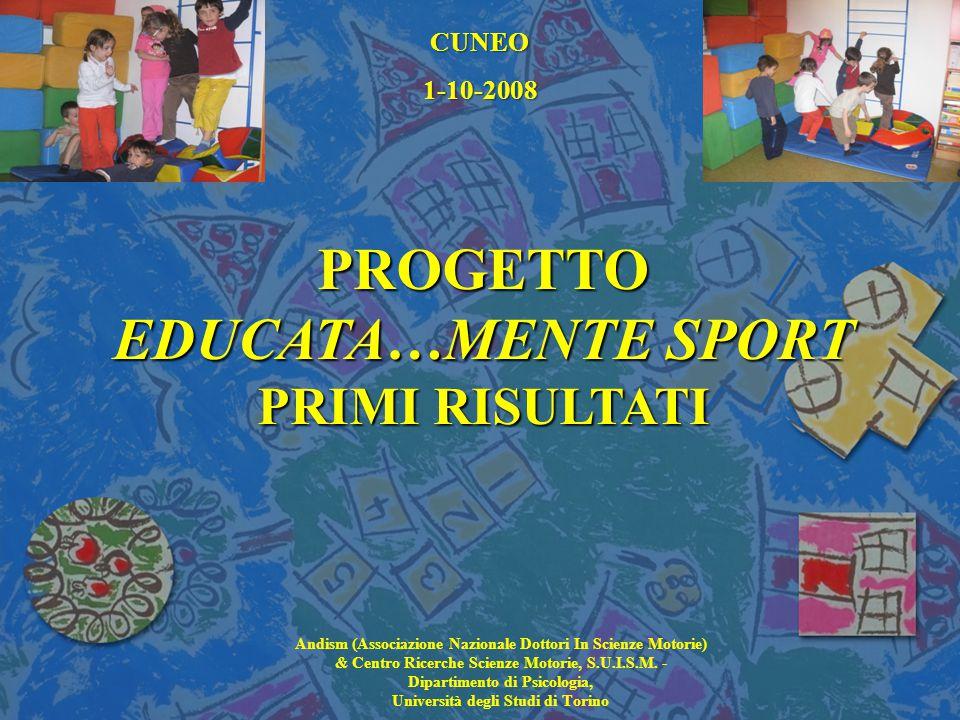 PROGETTO EDUCATA…MENTE SPORT