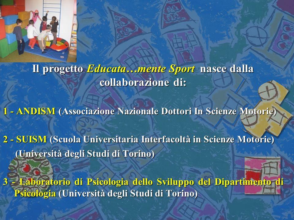 Il progetto Educata…mente Sport nasce dalla collaborazione di:
