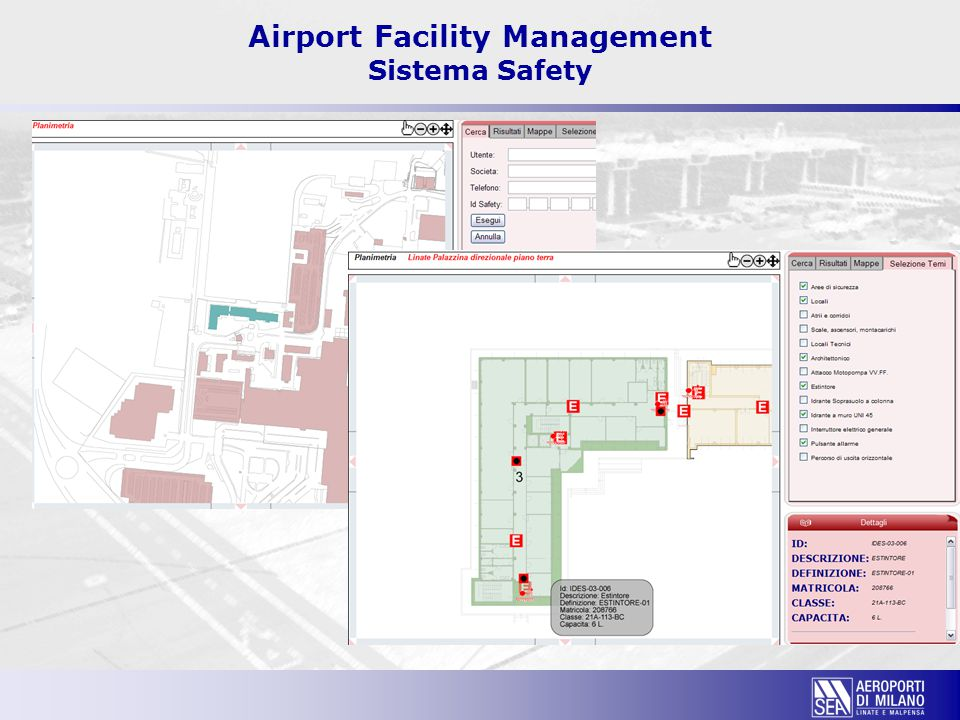 Airport Facility Management Sistema Safety