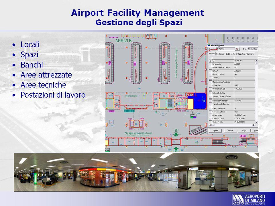 Airport Facility Management Gestione degli Spazi