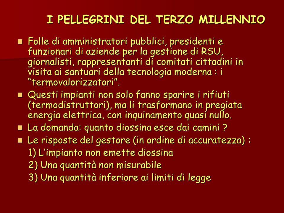 I PELLEGRINI DEL TERZO MILLENNIO