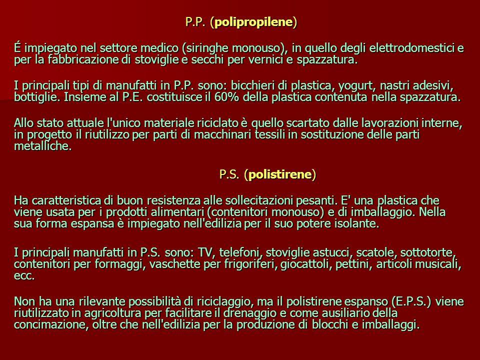 P.P. (polipropilene)