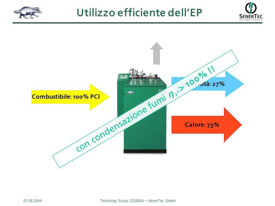 Utilizzo efficiente dell'EP
