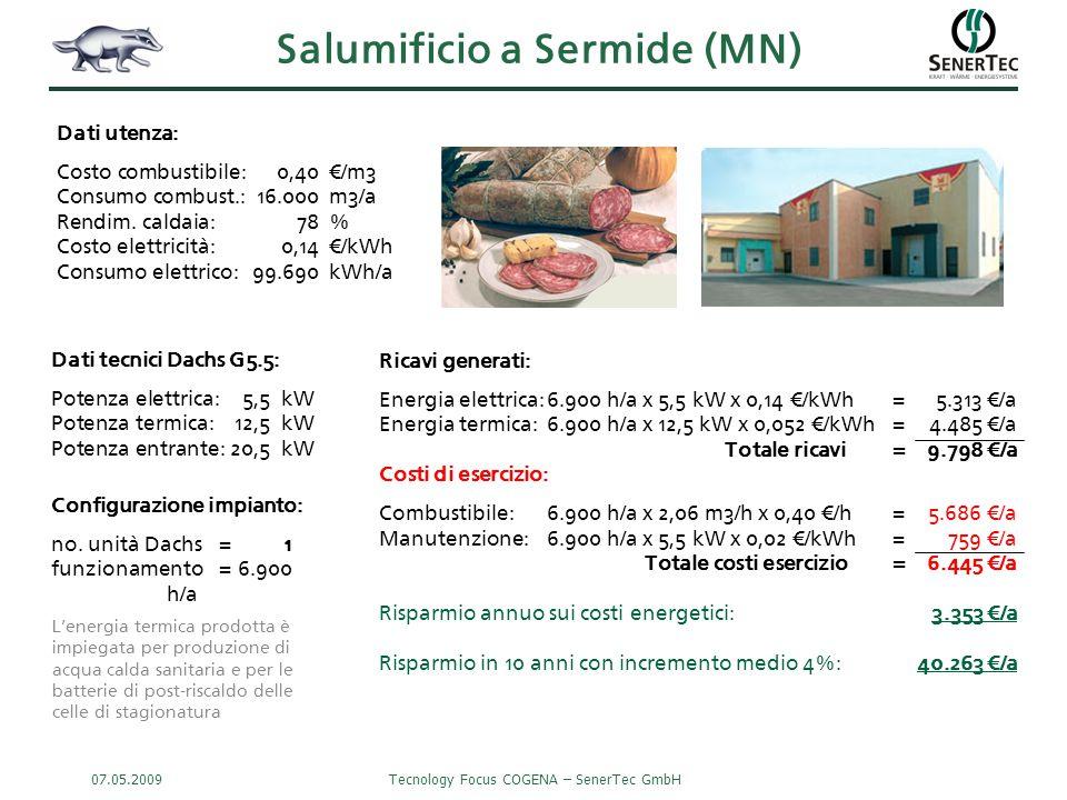 Salumificio a Sermide (MN)