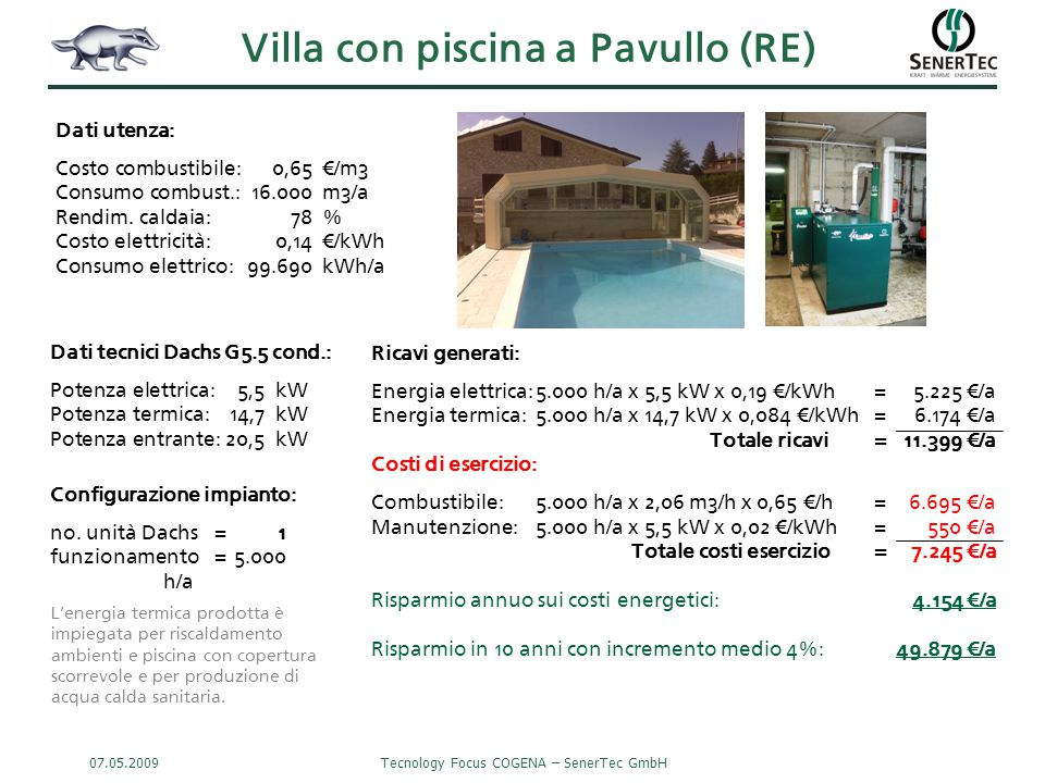 Villa con piscina a Pavullo (RE)