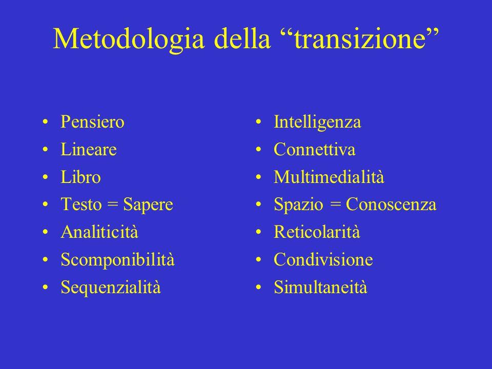 Metodologia della transizione