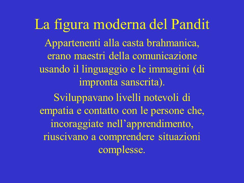 La figura moderna del Pandit