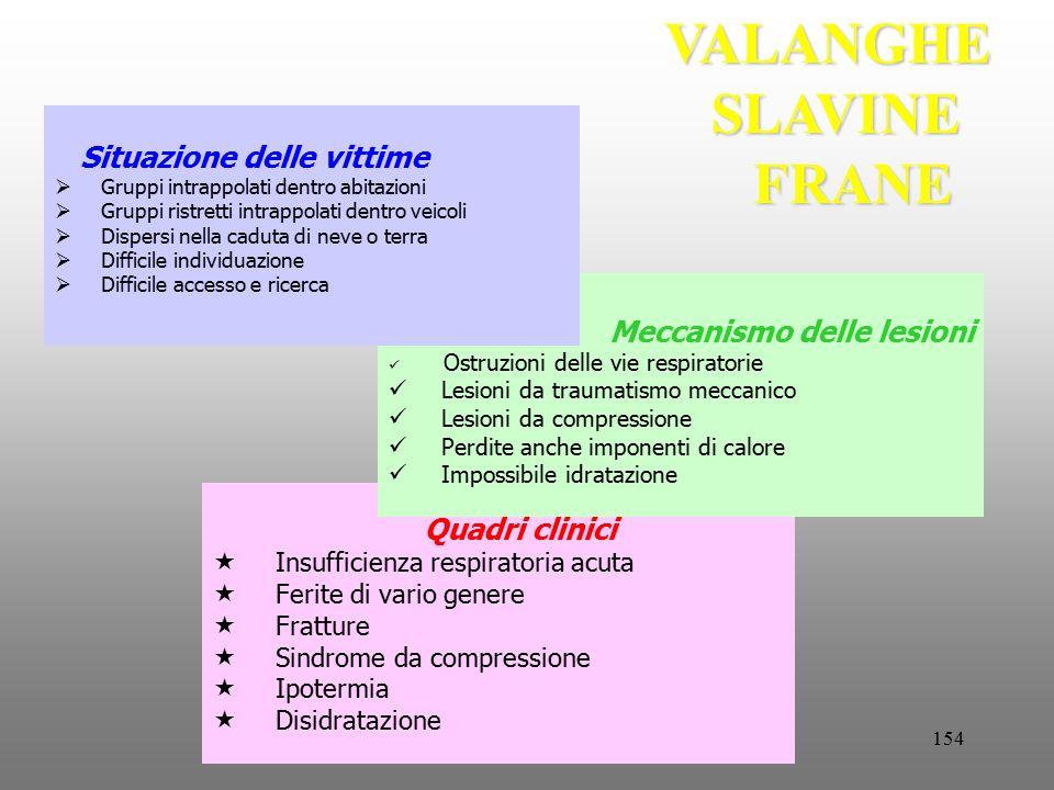 VALANGHE SLAVINE FRANE
