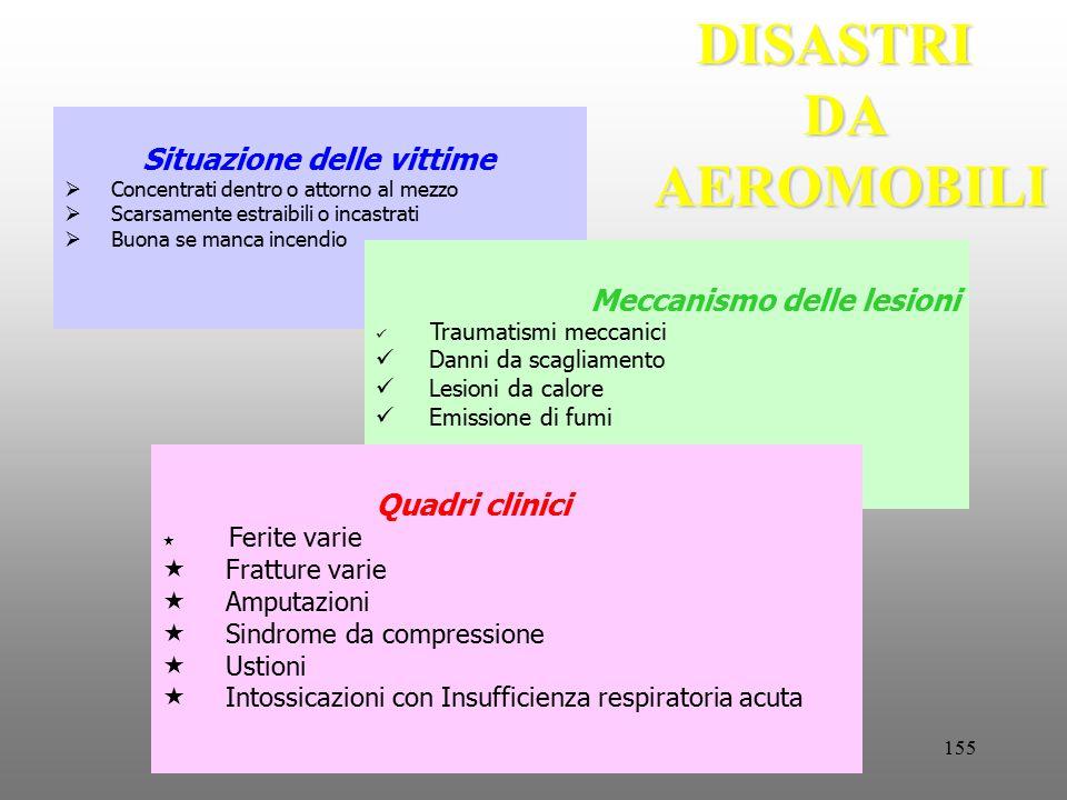 DISASTRI DA AEROMOBILI