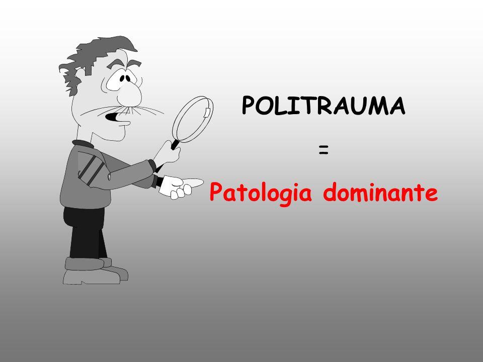 POLITRAUMA = Patologia dominante