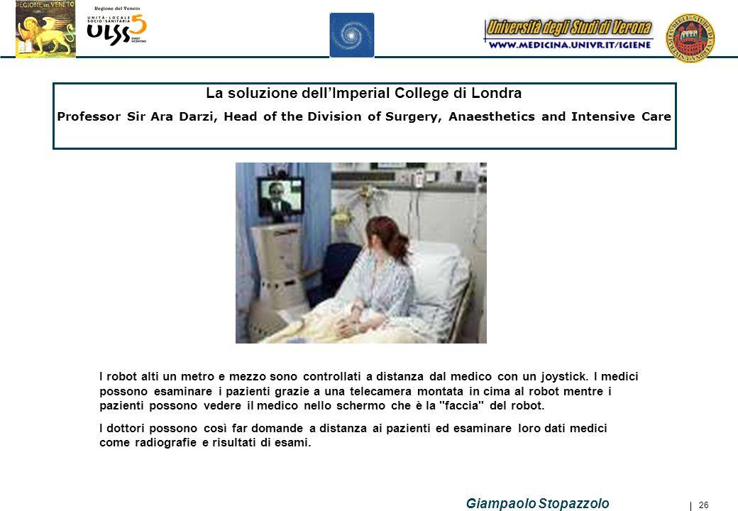 La soluzione dell'Imperial College di Londra